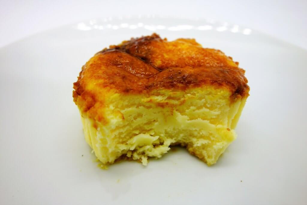 バスチーバスク風チーズケーキの断面