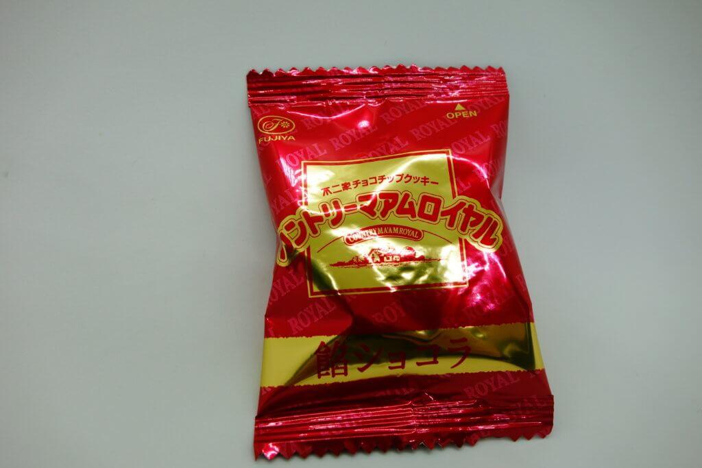 カントリーマアムロイヤル(餡ショコラ)の個包装