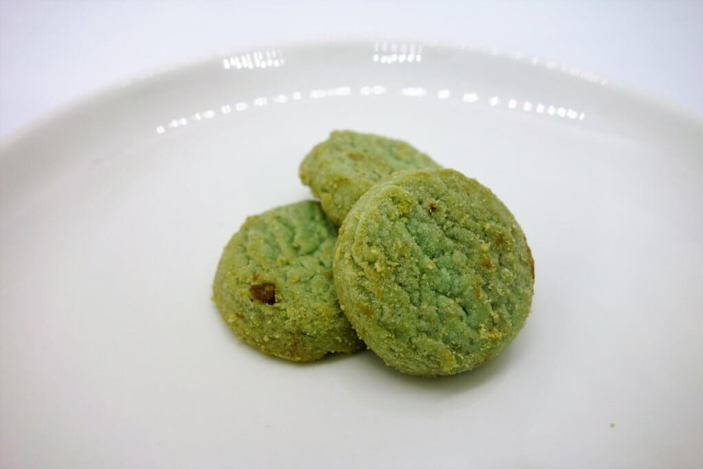 ミニチョコチップクッキーミントの見た目